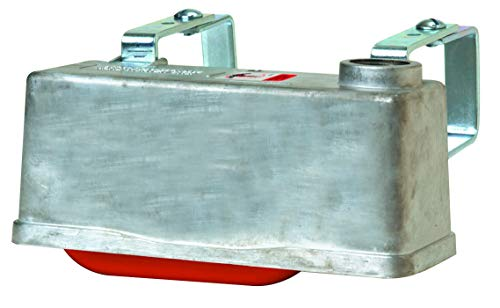 Little Giant Trough-O-Matic Stock Water Tank Float Valve Controlled Watering Tank with Aluminum Housing and Expansion Brackets (Item No. TM830T)