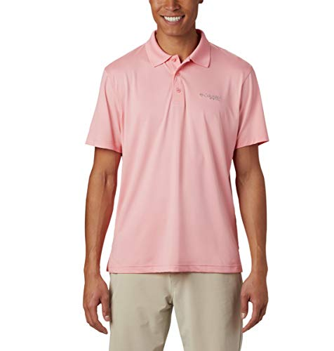 Columbia Men's PFG Skiff Cast Polo Shirt, Breathable, UV Protection