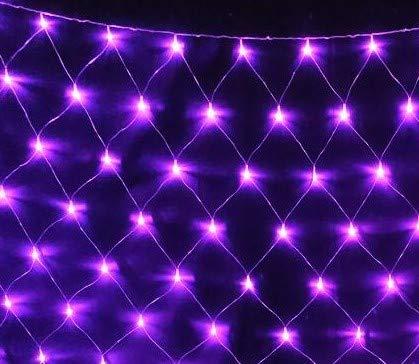 E-db LED Lichternetz 1.5M x 1.5M 96 LED Lichterkette Nachtlicht/Weihnachtsdekorationlichter/Weihnachten Hochzeit...