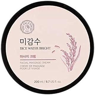 The Face Shop Rice Water Bright Facial Massage Cream,