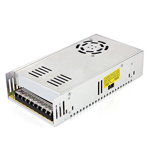 OYY AC-DC 24V 16.7A Schaltnetzteil 400W Transformator Netzteil für den Dauereinsatz Schalter 110-220V Ausgang für LED-Geräte, Videokameras, Überwachungsanlagen, Diebstahlschutz-Anlagen