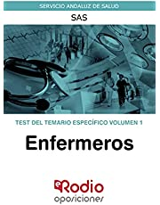 Enfermeros. Test del temario específico. Volumen 1: Servicio Andaluz de Salud. SAS