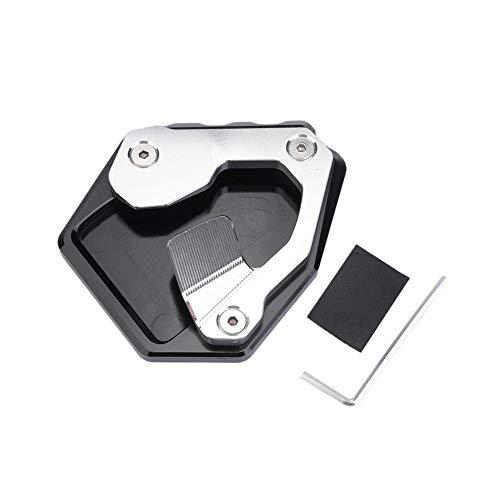 CNC Motorrad Ständer Seitenständer Erweiterungsplatte Pad , Seitenständer Erweiterungspad Seitenständer Unterstützung Fuß-Verbreiterung Ständer Platte für CRF1000L ABS/DCT 2016-2017