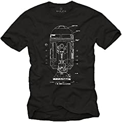 MAKAYA Camisetas Graciosas Hombre - Android