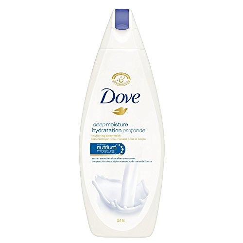 Dove Deep Moisture Hydration Body Wash 354ml (Pack of 3)