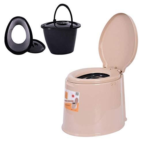 Pratico Comodo WC da Campeggio WC Portatile TY, Sedile del Water, WC Portatile da Viaggio da Viaggio Antiscivolo, Campeggio, Escursionismo, Picnic, Ospedale, Esterno (Dimensioni: 2) Facile da Usare