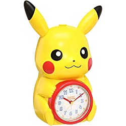 SEIKO CLOCK Pokemon X Y & Z Pikachu talking quartz alarm clock JF379A