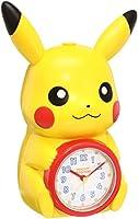 セイコー クロック 目覚まし時計 ポケットモンスター ピカチュウ キャラクター型 おしゃべり アラーム アナログ JF379A SEIKO