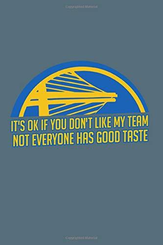 Golden | State | Warriors: Golden State Warriors Basketball Team Lovers Notebook & Journal | NBA Fan Essential