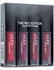 Red edition Matte lipsticks for professionals set of 4 BY AVARS