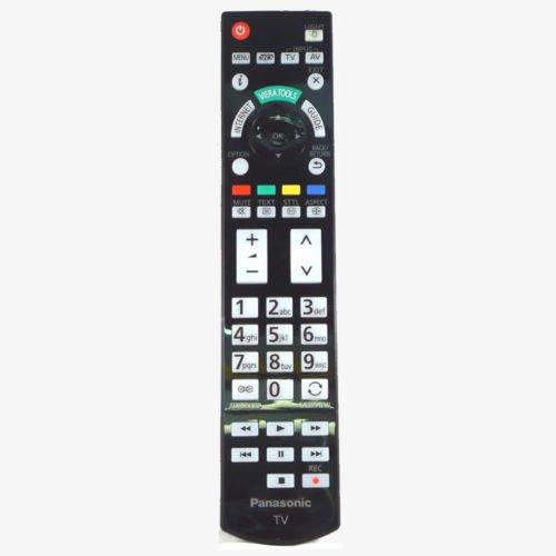 Panasonic N2QAYB000715 Fernbedienung TV Fernseher Viera TX-L42DT50 TX-L47DT50