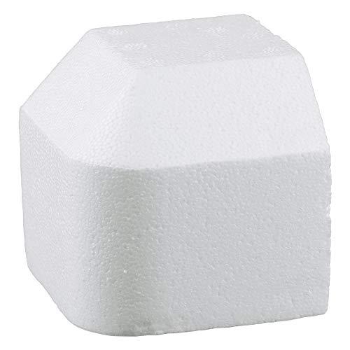 400x Styroporecken, Kantenschutz, weiß, 95 x 95 x 95 x 30 mm