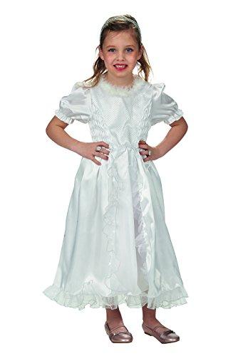 Andrea-Moden 142-128 Schneeweißchen-Kleid, 128