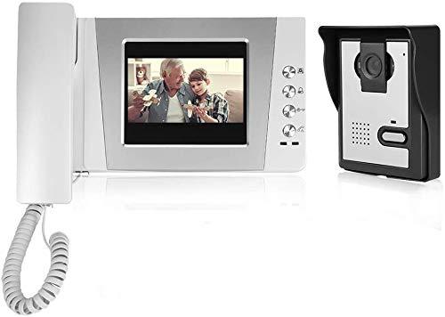 4,3 pulgadas Video Intercom - Videoportero con cable y panta