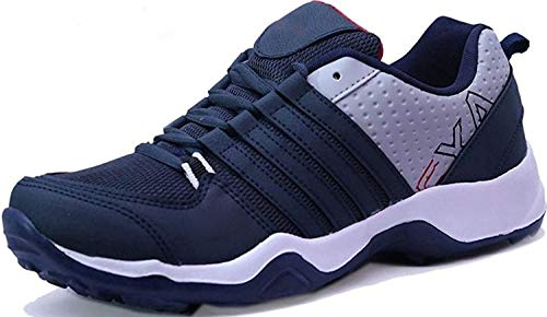 Ethics Perfect (CLYMB) Ultra Lite Sport Shoes for Men (8 UK/India, Navy Blue)