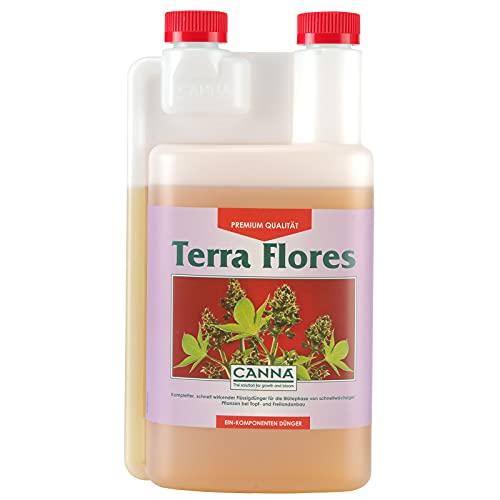 Canna Terra Flores - fertilizzante fioritura biologico, 1 litro