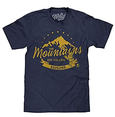 "Woodsy Owl ""Explore"" T-Shirt Soft Touch Fabric-Medium Navy Heather"