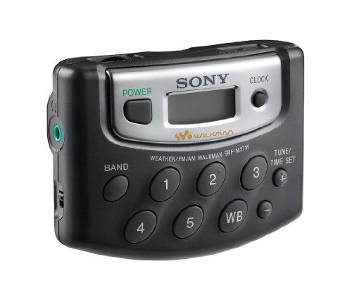 Sony SRF-M37W Walkman Digital Tuning Weather/FM/AM Stereo Radio...
