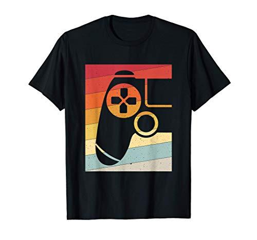 Gaming Gamer Controlador de juegos Retro Vintage Camiseta