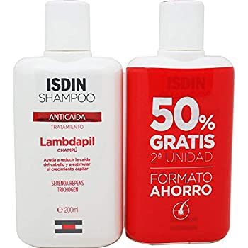 Lambdapil Champú anticaída 200 ml. 2º unidad 50%: Amazon.es: Salud ...
