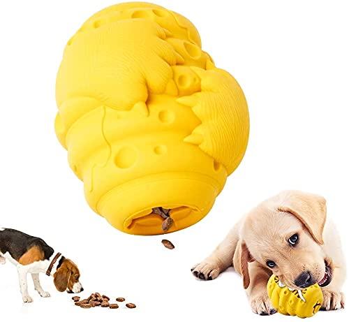 Hundespielzeug für Aggressive Kauer, unzerstörbares Hunde-Kauspielzeug für Training und Reinigung, langlebiges Gummi-Hundespielzeug,Interaktives Spielzeug für große, mittlere und kleine Hunde