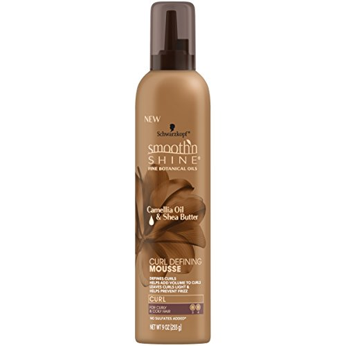 Smooth 'N Shine Curl Defining Mousse, 9 Ounces
