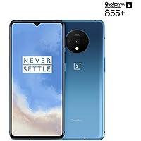 "OnePlus 7T Smartphone Glacier Blue   6.55""/16,6 cm AMOLED Display 90Hz Power Screen   8 GB RAM + 128 GB Storage   Triple Camera + Front-Camera   Warp Charge 30"