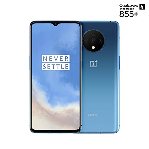 "OnePlus 7T Smartphone Glacier Blue | 6.55""/16,6 cm AMOLED Display 90Hz Power Screen 