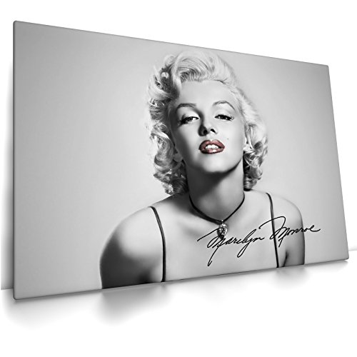 CanvasArts Marilyn Monroe - Leinwand Bild auf Keilrahmen (80x60 cm, einteilig)