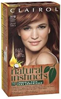 Clairol Natural Instincts Hair Color - 20Rb Bright Auburn Brown (Pack of 3)