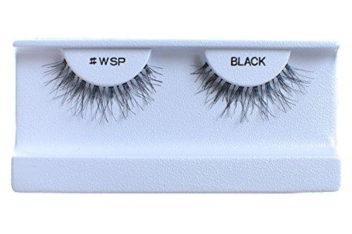 30 Pairs False Eyelashes Fake Eyelashes 100% Human Hair Black #WSP