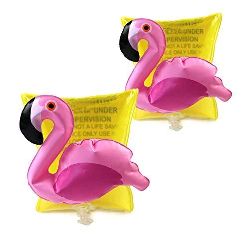 2 PCS Inflatable Arm Bands für Kinder Nette Flamingo Sleeves Float Bands Tragbares Schwimmflügel Schwimmhilfe Zubehör