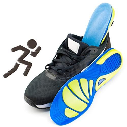 KICCOLY Plantillas para Zapatos de Gel Amortiguadoras,