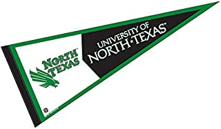 College Flags & Banners Co. University of North Texas Pennant Full Size Felt