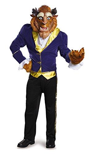 Disney Disguise Men's Beauty and The Beast Beast Ultra Prestige Costume