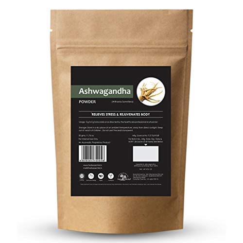 Herb Essential Pure Ashwagandha Powder - 50 g