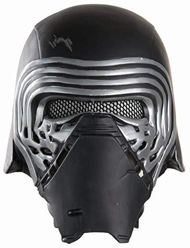 Rubie's Disfraz Star Wars VII: Disfraz de The Force Awakens BB-8, Medio Casco Kylo REN, Negro, Una Talla