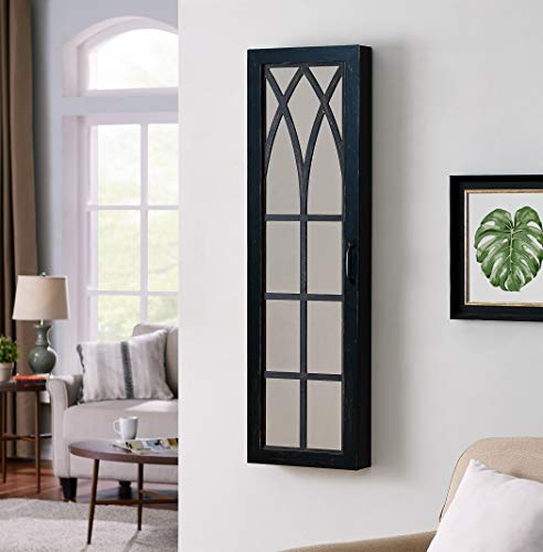 FirsTime & Co. Black Arch Jewelry Armoire, 47