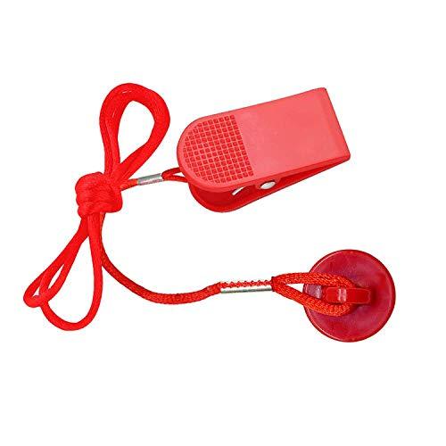 Laufband Universal Magnet Sicherheitsschlüssel für alle NordicTrack, Proform, Image, Weslo, Reebok, Epic, Golds Gym, Freemotion und Healthrider Laufbänder