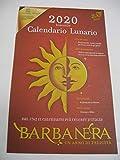CALENDARIO LUNARIO 2020 BARBANERA UN ANNO DI FELICITA' DA PARETE F.TO 45 X 28 CM
