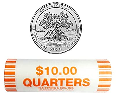 2020 D National Park Quarter Roll Quarter US Mint Uncirculated