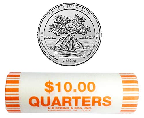2020 D National Park Quarter Roll Quarter US Mint Uncirculated