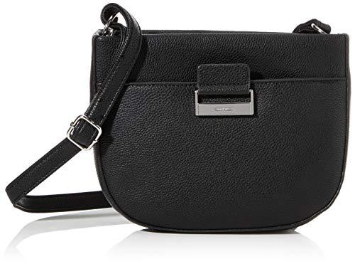 Gerry Weber Talk Different Ii Shoulderbag Shz - Borse a spalla Donna, Nero (Black), 6.5x19x24 cm (B x H T)