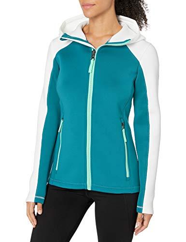 Spyder Sweat à capuche pour femme Active Full Zip Hoodie XL Swell