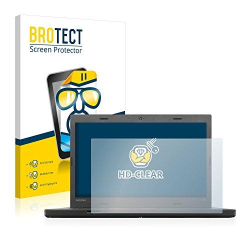BROTECT Schutzfolie kompatibel mit Lenovo ThinkPad L460 klare Bildschirmschutz-Folie