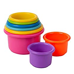 Baby Stocking Stuffers: Stacking Cups