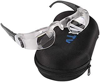 Television TV Glasses Magnifier Lens Loupe 0-300 Degree Goggles Portable Lupa Lupas De Aumento 2.1X Myopia Magnifying Glass