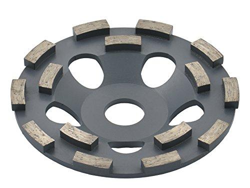 TRONGAARD SELECT Diamantschleiftopf/Diamantschleifteller 125mm / 22,23mm / 19mm doppelreihig