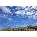 Flexifoil Adults , Older Kids Kitesurfing Trainer Kite . Beach Summer Trick Kites , Outside Stunt Toys , Sport Games