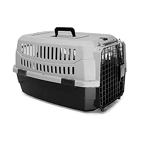 PETSWORLD Pet Carrier, XS: Hard-Sided Dog Carrier, Cat Carrier, Small Animal Carrier, Perfect for Tiny Dog Breeds or Cats